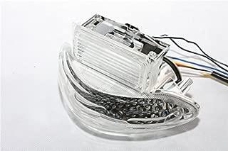 SMT- Custom Clear Lens Brake Tail Light with Integrated Turn Signals Indicators Compatible With Suzuki 1999-2007 Hayabusa GSXR1300 2003-2006 Katana 600/750 2003-2006 GSX-F 600/700 [B00XM7K1S4]