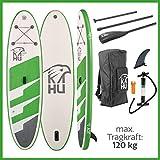 KAHU® Joy 9'8'' Stand up Paddling Board – aufblasbares iSUP Board komplett Set inkl. Alu-Paddel und Pumpe - Allroundboard für Einsteiger – 15cm Dick...