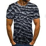 SSBZYES Camiseta De Verano para Hombre Camiseta De Manga Corta para Hombre Camiseta De Cuello Redondo para Hombre Camiseta De Manga Corta Informal con Estampado De Gran Tamaño para Hombre