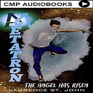Metatron: The Angel Has Risen audiobook cover art