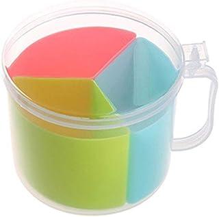 KYBHD Assaisonnement de rangement en plastique Organisateur sucre poivre Layers Boîte de cuisine Spice couvercle Boîtes Bo...