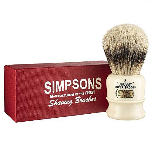 Simpsons Chubby Super Badger Shaving Brush (Chubby CH3 Super)