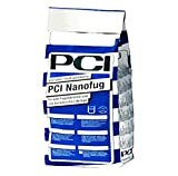 PCI Nanofug - Mortero flexible para juntas (4 kg), color gris plateado
