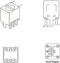 10 Piece Lot 281-3.3K-RC 3.3K Ohm 1 Watt 5/% Metal Oxide Resistor