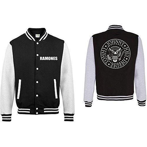 Rock Off Trade The Ramones Varsity Jacke für Erwachsene, Größe S