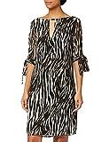 Marca Amazon - TRUTH & FABLE Vestido Evasé de Gasa Mujer, Multicolore (Multi Colour), 34, Label: XXS