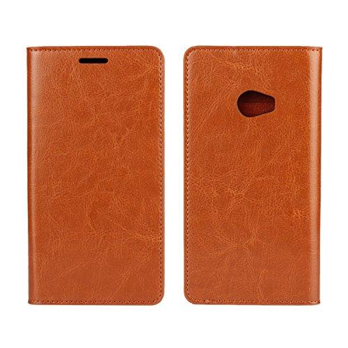 Copmob Funda Xiaomi Mi Note 2,Premium Flip Billetera Funda de Cuero,[Función de Soporte][3 Ranura para Tarjeta][TPU a Prueba de Golpes],Carcasa Case para Xiaomi Mi Note 2 - Marrón Claro