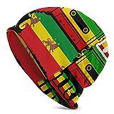 YongColer Women Men Multifunctional Lightweight Breathable Slouchy Beanie Hat Soft Baggy Oversized Skull Cap Warm Stretchy Rastafarian Reggae Rasta Style Camo Camouflage Knit Hat