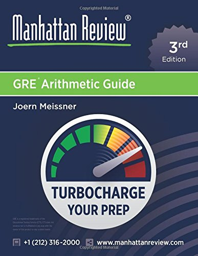 Manhattan Review Gre Arithmetic Guide Turbocharge Your Prep