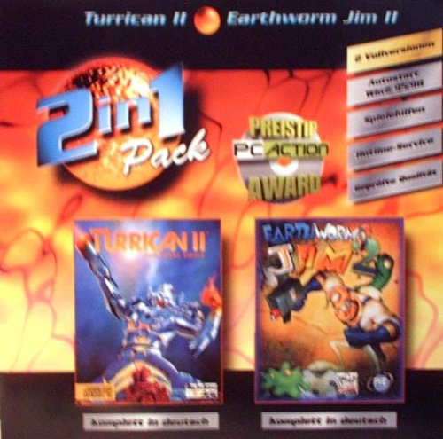 2in1 Turrican II + Earthworm Jim 2