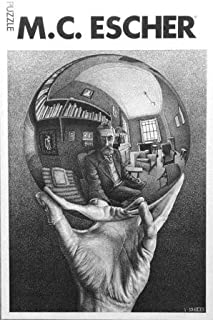 Hand with Globe M.C. Escher Jigsaw Puzzle 1000pc by Selegiochi