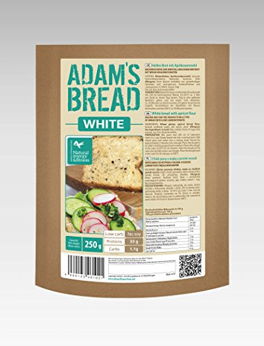 Adamsbrot White Brotbackmischung Low Carb 250g