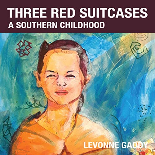 Three Red Suitcases audiobook cover art