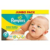 Pampers New Baby Taille 2 Mini 3-6kg (74) - Paquet de 2