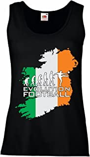 lepni.me N4489P Female Tank top Evolution Football - Ireland