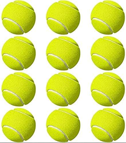 CTTPEG Tennisballen, tennistrainer bal, tennisbal met snoer, kinderen beginners oefenen, indoor outdoor, 12 stuks of 3…