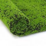 XHSP Artificial Grass Rug Fake Moss Grass Turf DIY Synthetic Turf Landscape Artificial Grass Mats Lawn Carpet for Wedding Home Backyard Patio Balcony Indoor Outdoor Decor (Blackcoffee, 3.28x3.28 ft)
