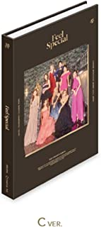 JYP Entertainment Twice - Feel Special [C ver.] (8th Mini Album) CD+88p Photobook+Lyrics Paper+5Photocards+Gold Photocard+Official Folded Poster+Double Side Extra Photocard