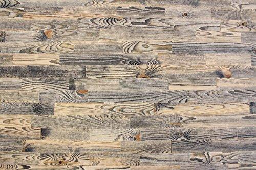 wodewa Holz Wandverkleidung Vintage Optik 1m² Nachhaltige Echtholz Wandpaneele Moderne Wanddekoration Holzverkleidung Holzwand Wohnzimmer Küche Schlafzimmer V004