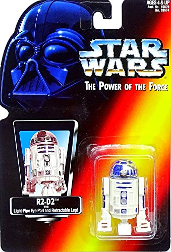 Hasbro R2-D2 with Retractable Leg A New Hope Red Card - Star Wars Power of the Force Collection Kenner