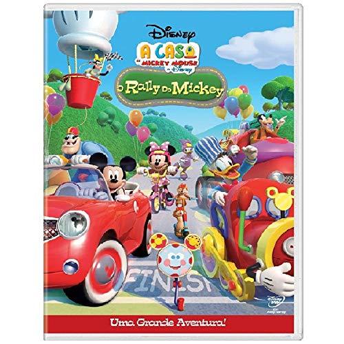 DVD Disney - O Rally Do Mickey