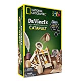 NATIONAL GEOGRAPHIC Construction Model Kit - Build Your Own Wooden Model of The Original Catapult, Learn About Da...