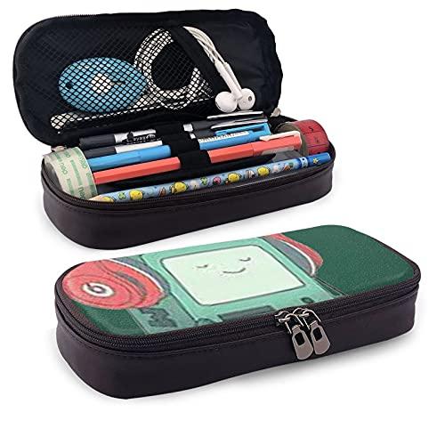 Fan Art Adventure Time - Estuche para lápices con cremallera, para estudiantes, para escuela, oficina, suministros universitarios