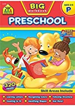 Big Preschool Workbook by School Zone Staff (2014) Paperback