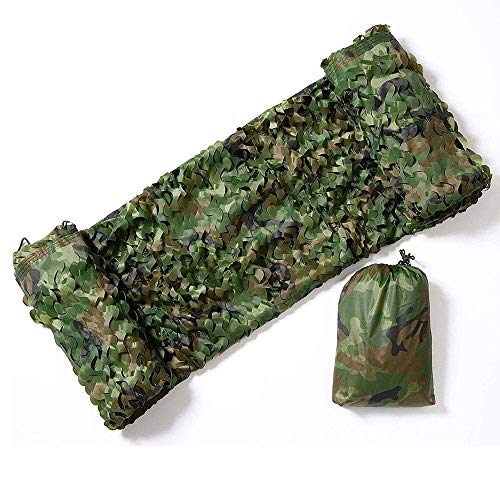 ZHJBD Camouflage Jungle Camouflage Net Camping Huid Fotografie Decoratie Vogel Kijken Air Defense Net (Maat: 3x10m)