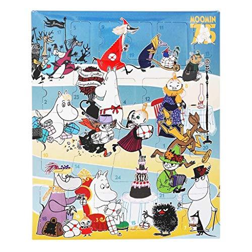 MOOMIN Martinex Weihnachts Adventskalender mit Brettspiel und Plastikfiguren 2020
