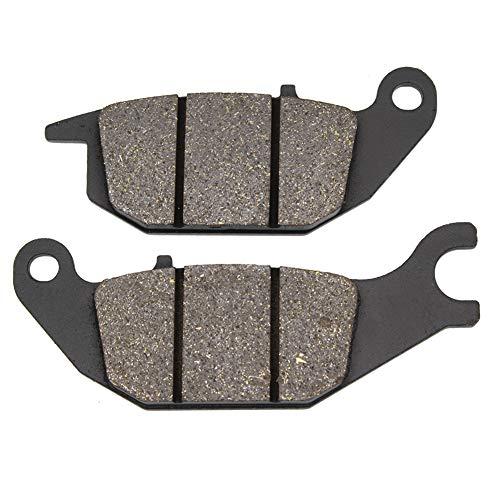 Cyleto Pastillas de freno traseras para XL125 XL 125 Varadero 125 2001-2011 CBR 125 2005-2010 CBR 150 R 2000-2003