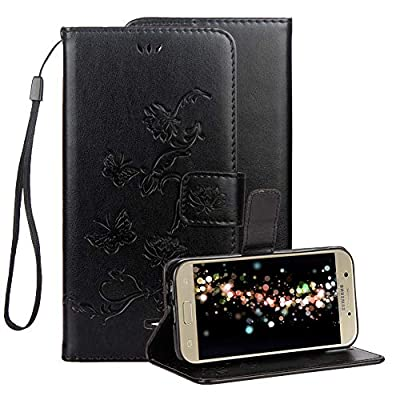 Embossed Leather Case for Samsung Galaxy J3 2018,