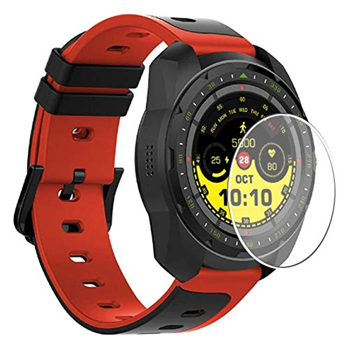 Vaxson 3 Stück Schutzfolie, kompatibel mit KINGWEAR KW01 Smartwatch smart watch, Displayschutzfolie TPU Folie [ nicht Panzerglas ]