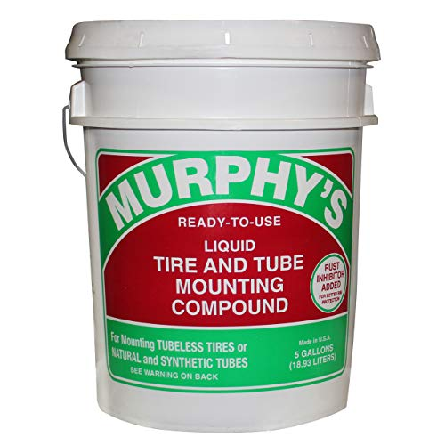 Murphy's 5-Gallon Liquid Tire & Tube Mounting Compound