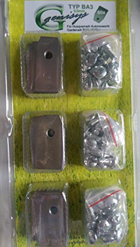 genisys *60 Messer (extra scharf)* für Husqvarna Automower ® und Gardena R40Li / R70Li
