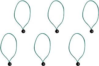 sharprepublic 6 stuks 24 cm bal bungee-koord elastische tent baldakijn zeil zekering sjorriem