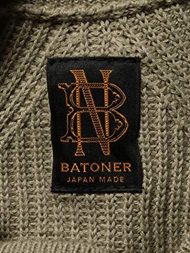 BATONER(バトナー)『アイコンクルーネックプルオーバーニット』