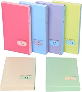 Business Card Book Holder, 2 PCS Business Name ID Credit Card Holder Rack Book Case Organizer Lomo Card Photocard Photo Album (120 Pockets)