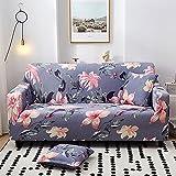 Fundas de sofa elasticas con funda de almohada para 1 2 3 4 plazas,funda de sofá seccional en forma de L para perros gatos mascotas niños,funda para sofá de dos plazas funda protectora de muebles(C