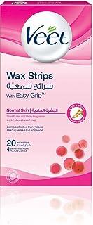 Veet Wax Strips, Normal Skin 20s