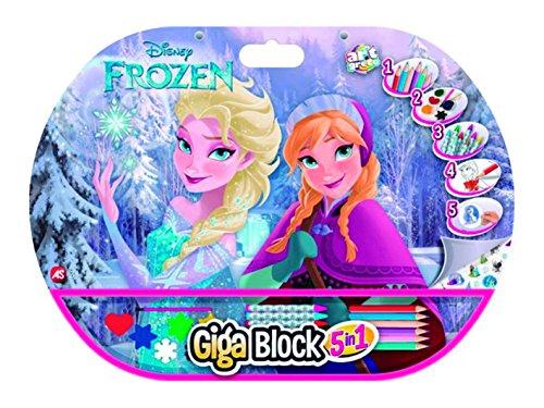 Disney Frozen Set Dibujo, 52 x 38 cm (Cefatoys 21803)
