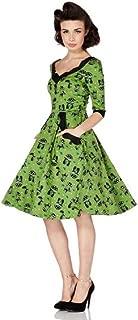 voodoo vixen green cat dress