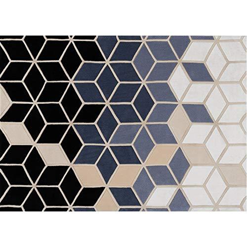MXIANDM Luce Manuale 3D Soggiorno Tappeto Moderno Minimalista Arte Ispessimento Villa Camera Divano tavolino Tappetino 160 cm x 230 cm