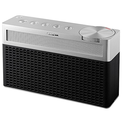 Geneva Touring/S Tragbares Bluetooth und UKW/DAB-Plus Gerät - schwarz
