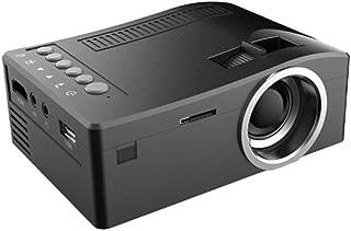 Home Mini Projector,Hosamtel UC18 LCD Mini Portable 1080P HD 48LUX LED Home MulitMedia Theater Cinema Video Projector Support USB TV VGA SD AV Multi language,Movie Nights and Video Games