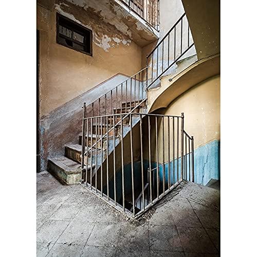 Accesorios de Fondo de fotografía Fondo de Estudio de fotografía de Retrato Retro Fondo de Foto de Vinilo A11 9x6ft / 2.7x1.8m