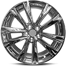 Road Ready Car Wheel For 2013-2015 Lexus RX350 RX450H 19 Inch 5 Lug Silver Chrome Rim Fits R19 Tire - Exact OEM Replacement - Full-Size Spare