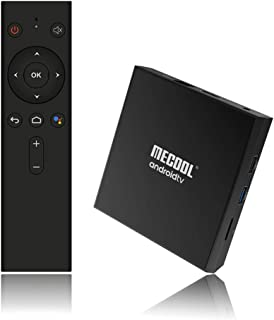 Profitech Communication® MECOOL KM9Pro Classic Google Certificated Android 9.0 Amlogic S905X2 (2GB RAM + 16GB ROM) 100Mbps|BT4.0| USB3.0 | OTA Update|4K with Voice Control Remote Smart TV Box 4K