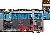 U17 LED Driver IC chip SMD para placa base para iPhone 4S