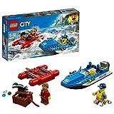 LEGO City Police Huida por Aguas Salvajes